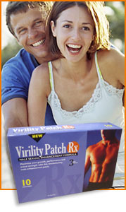 Virility Patch will put the Passion back into your love life